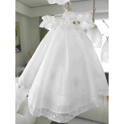 Baptism dress white
