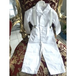copy of White suit for boy,...