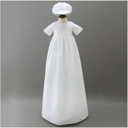 White baptismal suit